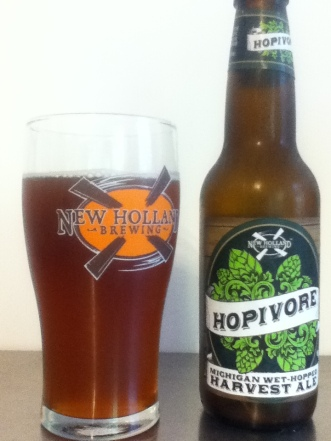 Yummy glass of Hoptivore